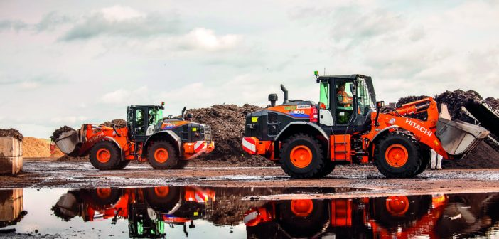 Service and quality make Hitachi wheel loaders first choice for recycling company
