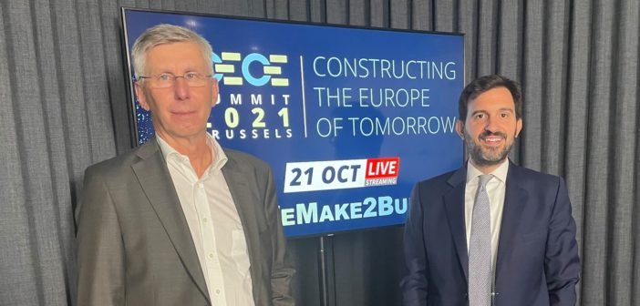 CECE Summit  #WeMake2Build – Constructing the Europe of Tomorrow
